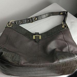 Purse Gray Shoulder Bag